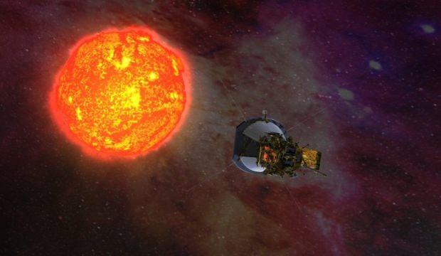 NASA Güneş'e