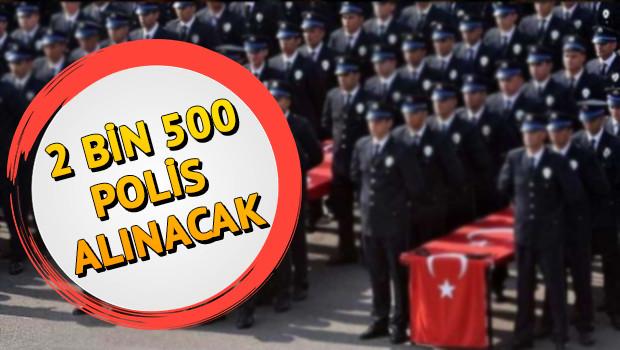 Polis Akademisi 2500 polis alımı başvurusu nasıl yapılacak? EGM polis alımı başvuru şartları nelerdir?