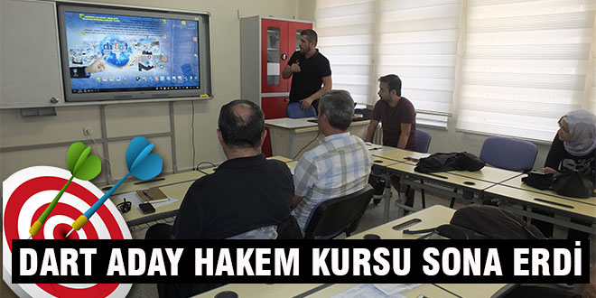 DART ADAY HAKEM KURSU SONA ERDİ