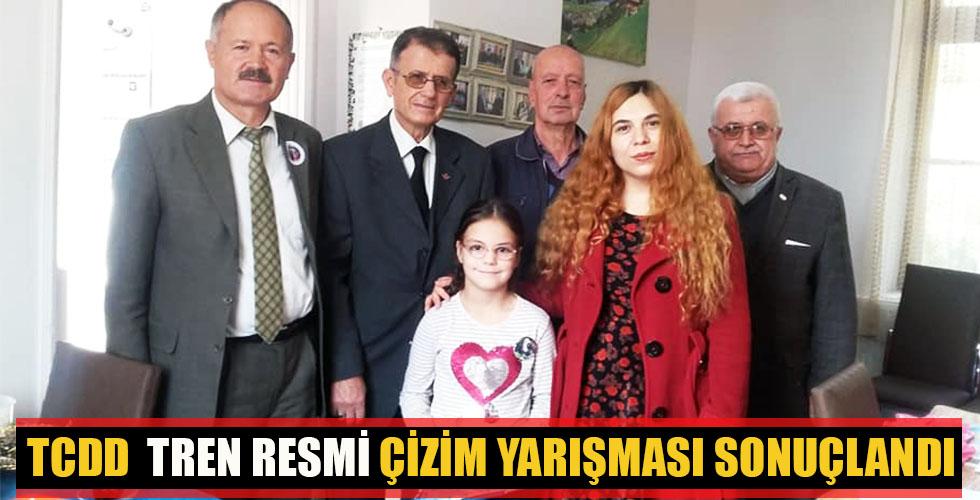 TCDD TREN RESMİ ÇİZİM YARIŞMASI SONUÇLANDI