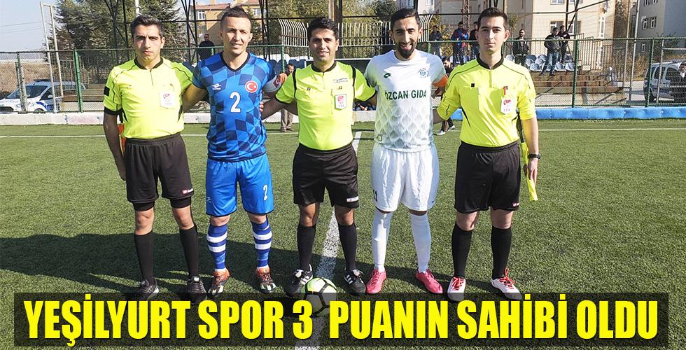 Yeşilyurt spor Osmaneli Gençlerbirliği spor'u 3-1 yendi