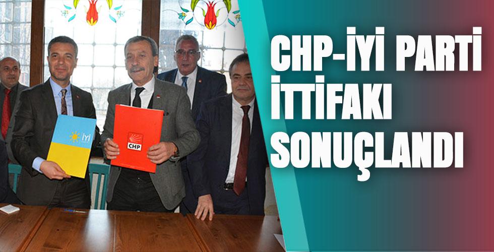 CHP-İYİ PARTİ İTTİFAKI SONUÇLANDI