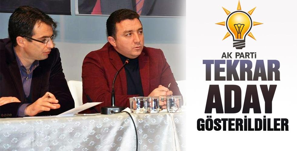 TEKRAR ADAY GÖSTERİLDİLER