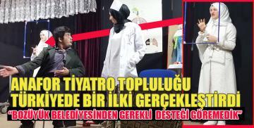 Türkiyede bir ilki gerçekleştirdiler ! Bozüyük Belediyesinden gerekli desteği göremedik !