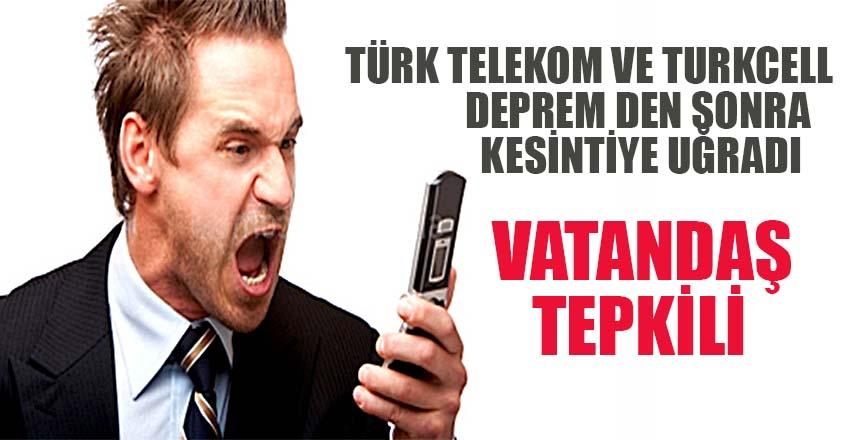 Türk Telekom ve Turkcell'denmobil hatlardaki kesintiye ilişkin açıklama