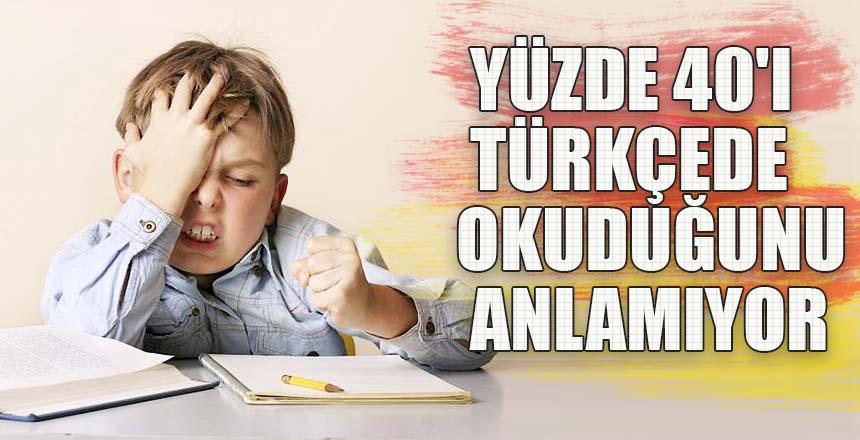 MEB'den başarı izleme araştırması… Yüzde 40'ı Türkçede okuduğunu anlamıyor
