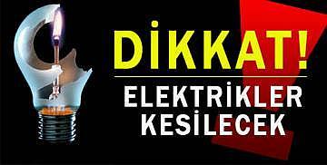 Bozüyük genelinde elektrik kesintisi olacak