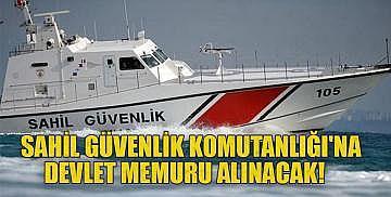Sahil Güvenlik Komutanlığı'na devlet memuru alınacak! e Devlet memur alımı başvuru ekranı