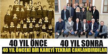 40 yıl önce 40 yıl sonra