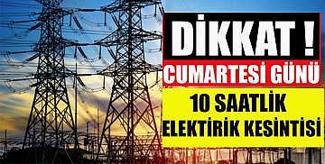 Yine elektrikler kesilecek