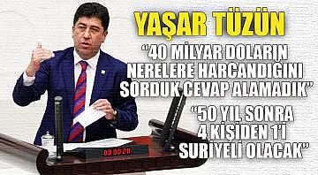 """Yaşar Tüzün """"50 yıl sonra 4 kişiden 1'i Suriyeli olacak"""""""