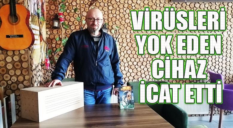 Virüsleri yok eden cihaz icat etti