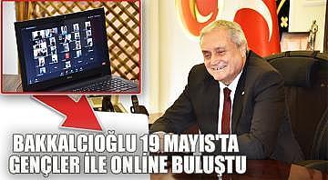 Bozüyük belediye başkanı Bakkalcıoğlu 19 Mayıs'ta gençler ile online buluştu