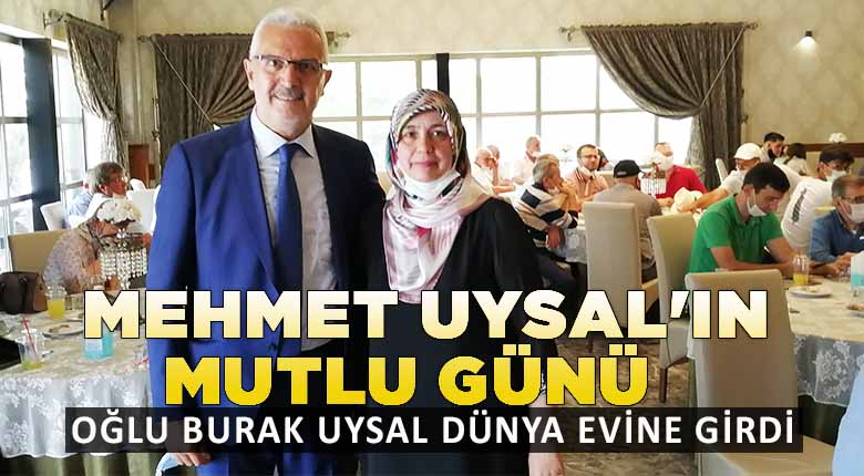 Mehmet Uysal'ın mutlu günü