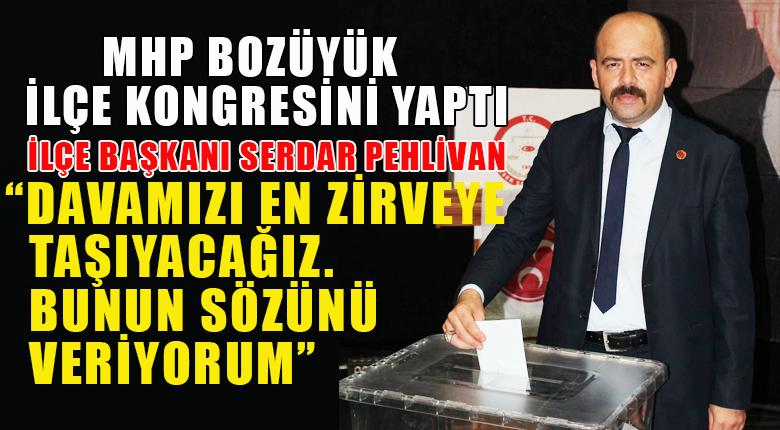 MHP Bozüyük İlçe Kongresini yaptı