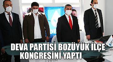 DEVA Partisi Bozüyük ilçe kongresini yaptı