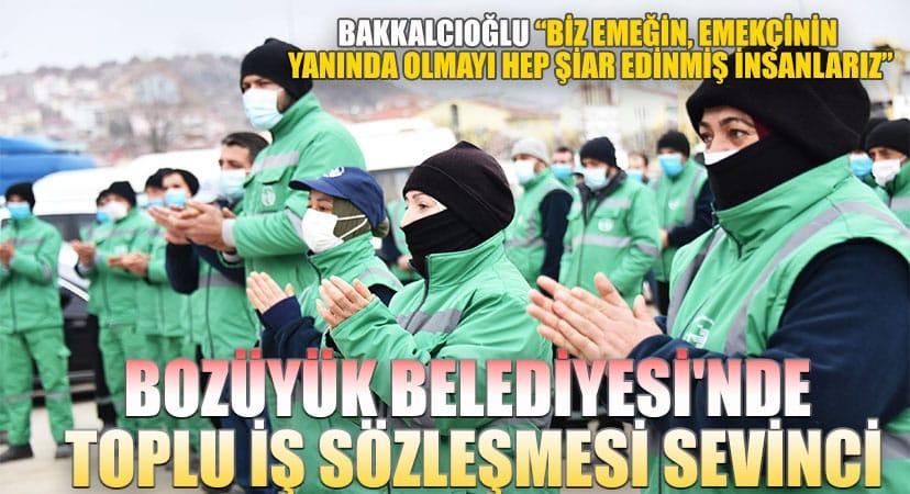 """Bakkalcıoğlu; """"Biz emeğin, emekçinin yanında olmayı hepşiar edinmiş insanlarız"""""""