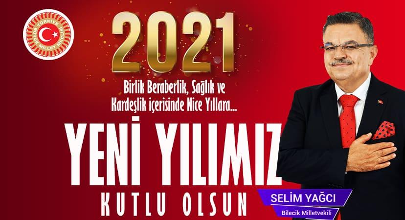 Bilecik milletvekili Selim Yağcı'nın yeni yıl kutlaması