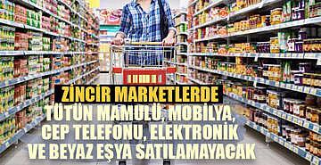 Ticaret Bakanlığı'ndan marketler için yeni düzenleme. Artık birçok şeyi satamayacaklar
