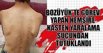 Bozüyük'te görev yapan hemşire tutuklandı