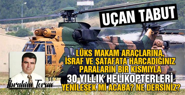 Sabıkalı helikopter AS 532 COUGAR