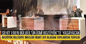 Şehit Eren Bülbül'ün ismi Bozüyük'te yaşayacak