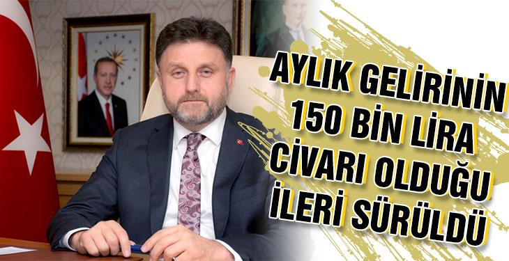 CHP'Lİ Ağbaba Fahrettin Poyraz ın aylık geliri 150 bin lira civarı olduğunu ileri sürdü