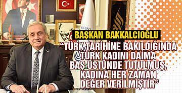 Bozüyük Belediye başkanı Bakkalcıoğlu'nun dünya emekçi kadınlar günü mesajı