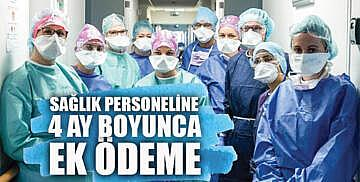 Resmi Gazete'de yayımlandı! Sağlık çalışanlarına 4 aylık ek ödeme