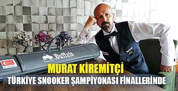 Murat Kiremitçi Türkiye Snooker Şampiyonası finallerinde
