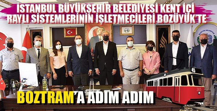 Başkan Bakkalcıoğlu METRO İstanbul genel müdürü Özgür Soy ve METRO İstanbul heyetini ağırladı