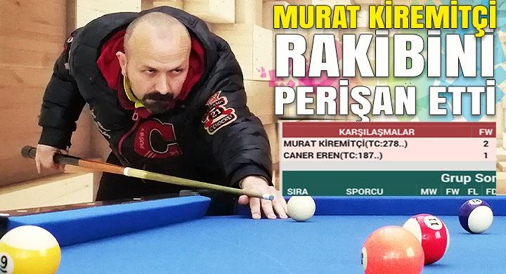 Murat Kiremitçi rakibini perişan etti