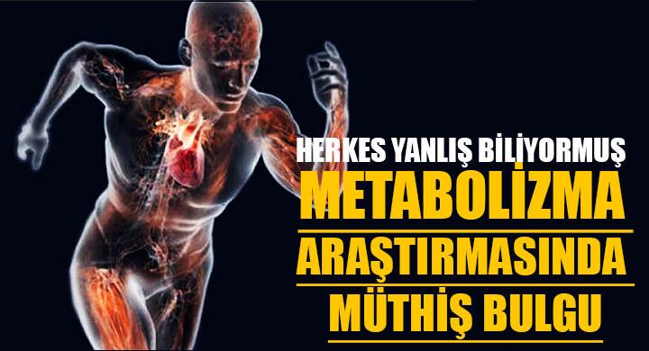 Metabolizma araştırmasında müthiş bulgu