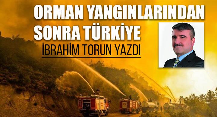 Orman yangınlarından sonra Türkiye !!!