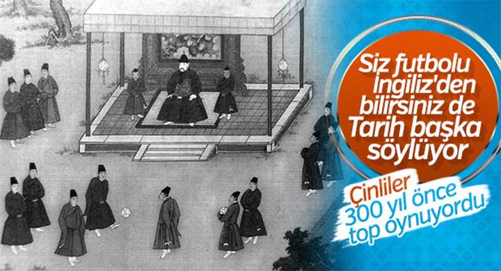 Tarihin ilk futbolcuları Çinlilerdi: Cuju Oyunu